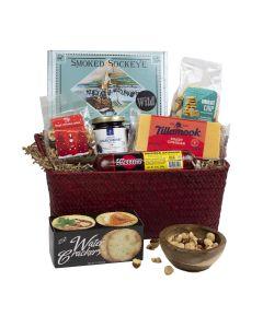 Oregon Native Cheese Gift Basket