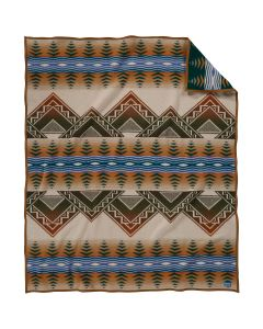 Pendleton Tan American Treasures National Park Service Wool Blanket, Twin