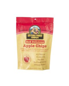 Red Delicious Apple Chips, Sisters Fruit Company 2.25oz