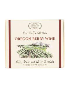 Euphoria Oregon Berry Wine Truffles 4 pc.
