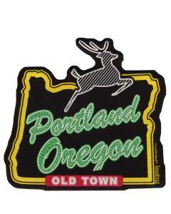 Portland Stag Magnet