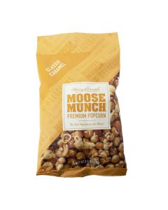 Moose Munch Classic Caramel Premium Popcorn, Harry & David 2.5oz