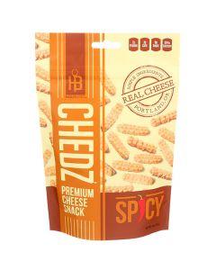 Chedz Premium Spicy Cheese Snack 4oz