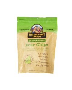 Northwest Pear Chips, Sisters Fruit Company 2.25oz