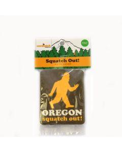 Sasquatch Out Pine Air Freshener