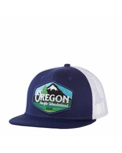 Oregon Pacific Wonderland Trucker's Hat, Little Bay Root