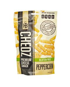Chedz Premium Peppercorn Cheese Snack 4 oz.
