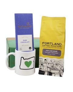 Portland Roasting Coffee Lovers Gourmet Gift Basket