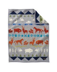 Pendleton Shared Paths Wool Baby Blanket