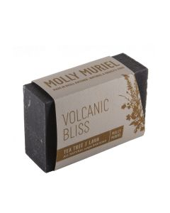 Volcanic Bliss Tea Tree & Lava Natural Bar Soap By Molly Muriel 5oz