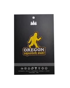 Squatch Out Oregon Embroidered Patch