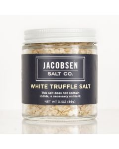 White Truffle Salt, Jacobsen Salt Co 3.1 Oz