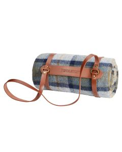 Pendleton Mosier Motor Robe Blanket With Leather Carrier