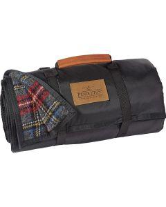 Pendleton Charcoal Stewart Tartan Roll-up Blanket
