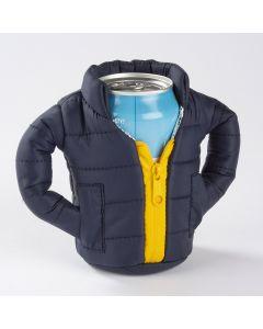 Puffin Beverage Jacket, Blue / Gold