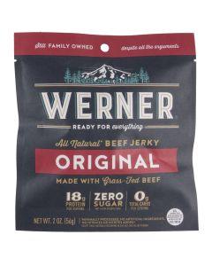 Werner Original Beef Jerky 2oz