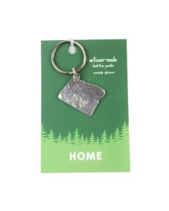 Crosby and Taylor Pewter Home Keychan