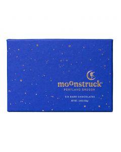 Dark Truffle Collection, Moonstruck Chocolate 6pc