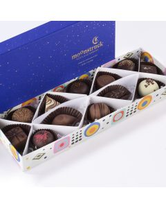Moonstruck Chocolate Zodiac Collection 12pc Open