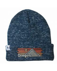 Oregon Horizons Knit Beanie, Little Bay Root