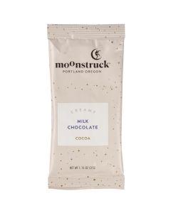 Milk Chocolate Hot Cocoa Single Serve Packet, Moonstruck Chocolate 1.15oz