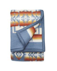 Pendleton Chief Joseph Slate Blanket, Queen Folded