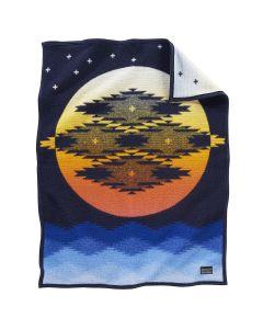Pendleton Blue Moon Dance Crib Blanket