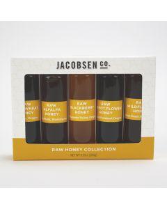 5 Vial Raw Honey Collection, Jacobsen Co.
