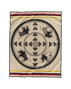 Pendleton Buffalo Nation Wool Blanket, Twin