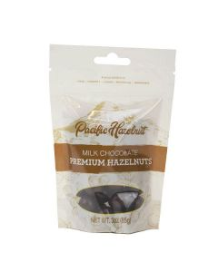Milk Chocolate Hazelnuts, Pacific Hazelnuts 3oz