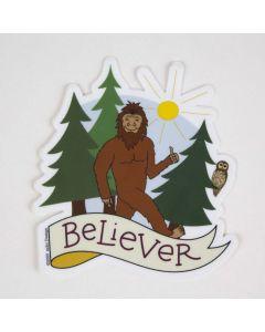 Bigfoot Believer Sticker