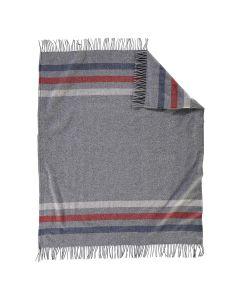 Pendleton Eco-Wise Grey Striped Throw