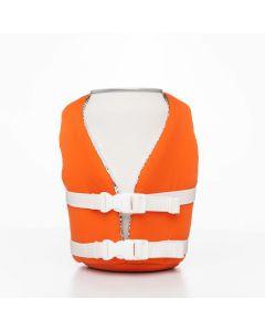 Puffin Beverage Life Vest, Vintage Orange