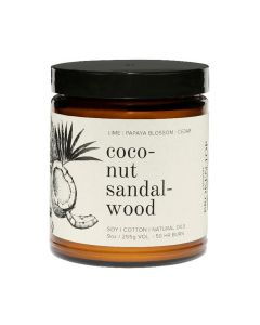 Coconut and Sandalwood Candle, Broken Top Candle Co. 9oz