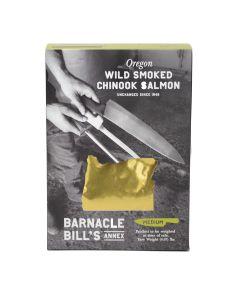 Barnacle Bill's Wild Smoked Chinook Salmon, Medium 8oz