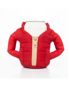 Puffin Beverage jacket Merlot / Tan