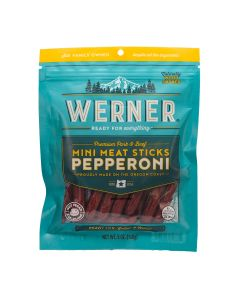 Werner Gourmet Mini Meat Snacks