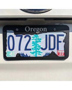 Oregon License Plate Frame, Stateline Frames