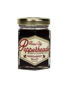 Marionberry Blast Jelly, Rose City Pepperheads