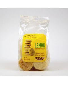 Lemon Shortbread Cookies, Mctavish Shortbread 4 oz