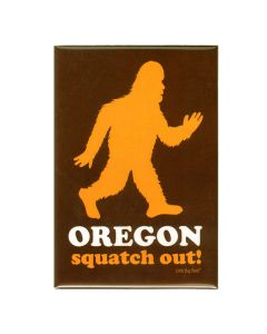 Oregon Squatch Out! Magnet: Little Bay Root