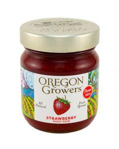 Strawberry Pinot Noir Fruit Spread, Oregon Growers 12 oz.