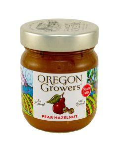 Pear Hazelnut Fruit Spread, Oregon Growers 12 oz.