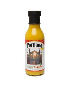 Portlandia Foods Organic Yellow Mustard