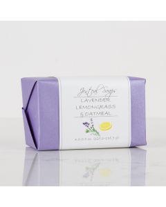 Lavender Lemongrass & Oatmeal, Jenteal Soaps 4.5-5.5oz