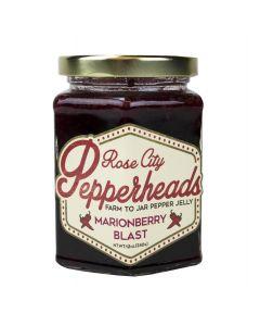 Marionberry Blast Jelly, Rose City Pepperheads 12oz