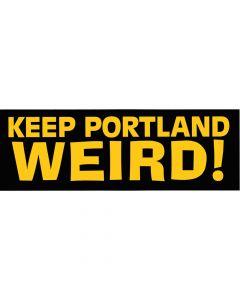 Keep Portland Weird Bumper Sticker