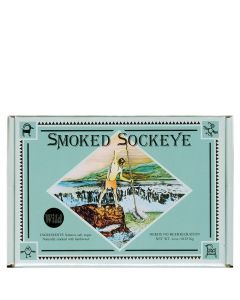Tony's Smoked Wild Sockeye Salmon 4 oz.