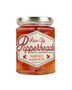 Mango Madness Jelly, Rose City Pepperheads 12o