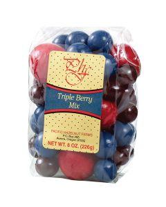 Pacific Hazelnut Farms Chocolate Triple Berry Mix 8 oz.